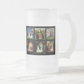 Masterpiece Composite - Cavaliers 16 Oz Frosted Glass Beer Mug