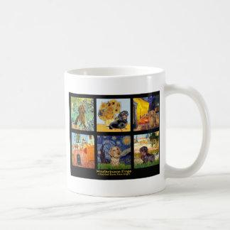 Masterpiece Composite-Dachshunds Basic White Mug