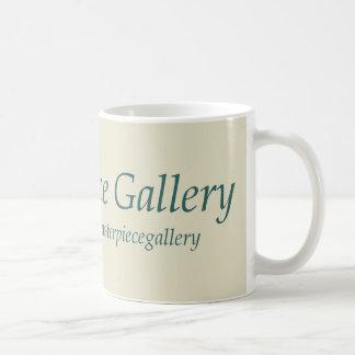 Masterpiece Gallery Logo, Image, Title and URL Basic White Mug