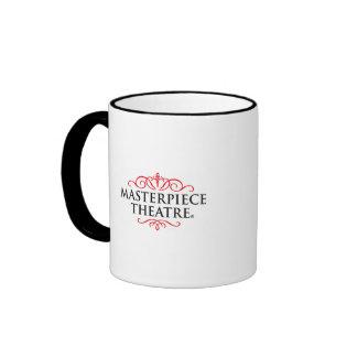 Masterpiece Theater Ringer Mug