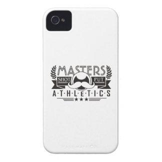 masters athletics shot put iPhone 4 Case-Mate cases