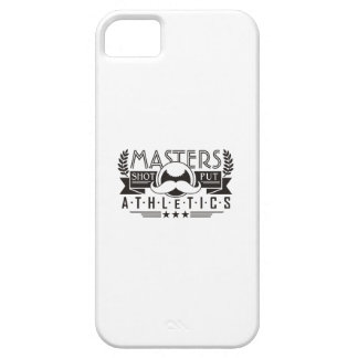 masters athletics shot put iPhone 5 cover