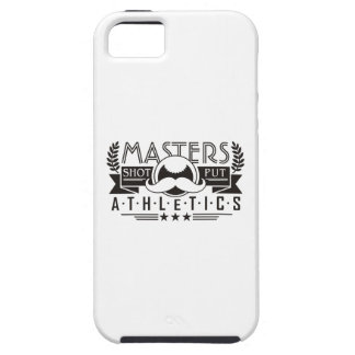 masters athletics shot put iPhone 5 cover