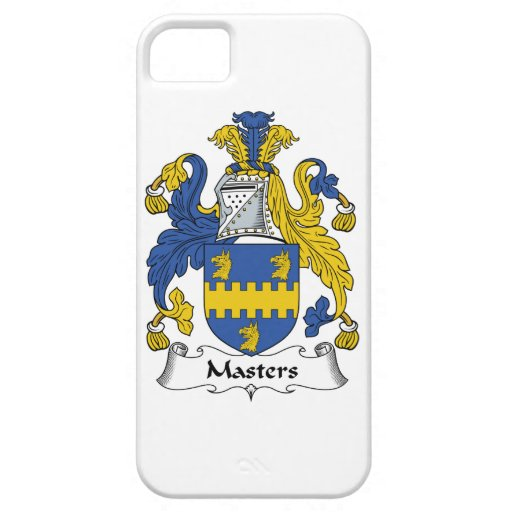 Masters Family Crest iPhone 5 Cases