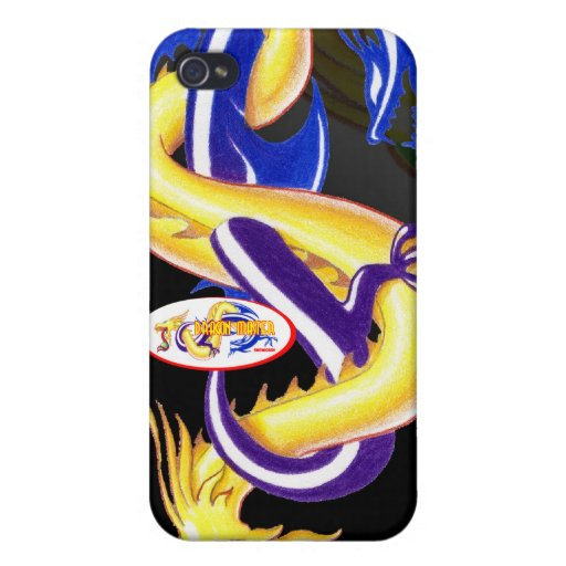 Masters of Dragons iPhone 4/4S Cases