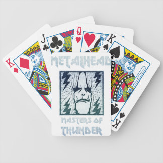Masters Of Thunder Bicycle Playing Cards