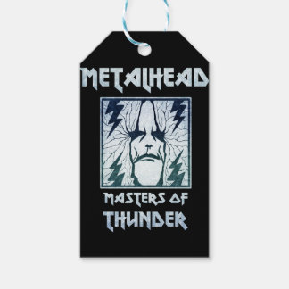 Masters Of Thunder Gift Tags