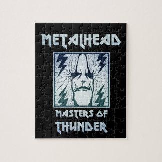 Masters Of Thunder Jigsaw Puzzle
