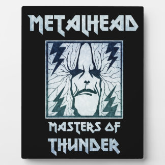 Masters Of Thunder Plaque