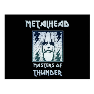 Masters Of Thunder Postcard