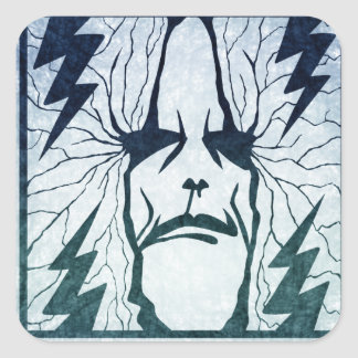 Masters Of Thunder Square Sticker