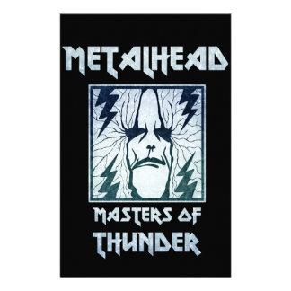 Masters Of Thunder Stationery