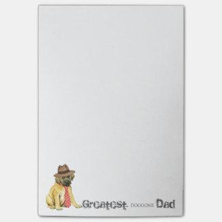 Mastiff Dad Post-it Notes