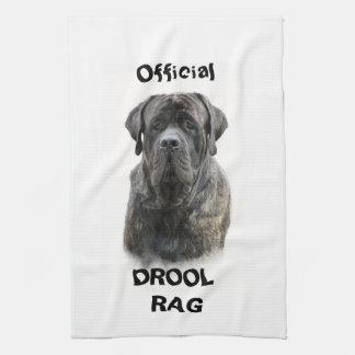 Mastiff Drool Rag Tea Towel