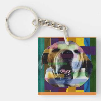 Mastiff in Color Key Chain