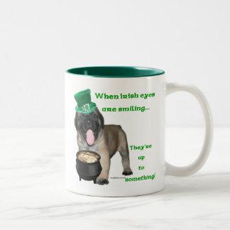 Mastiff Irish 1 Two-Tone Mug
