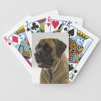 Mastiff Playing Cards
