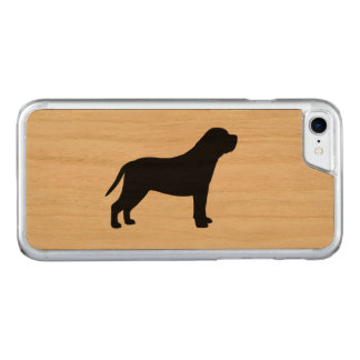 Mastiff Silhouette Carved iPhone 8/7 Case
