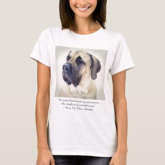 Mastiff w/ Henry VIII quote t-shirt
