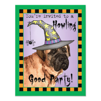 Mastiff Witch Personalized Announcements