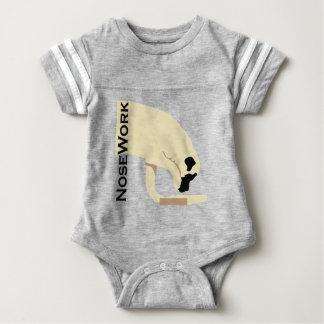 Mastiffs_Nose Work Baby Bodysuit