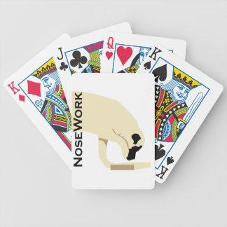 Mastiffs_Nose Work Bicycle Playing Cards