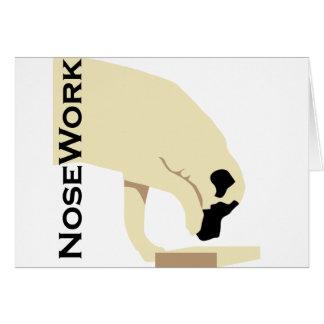 Mastiffs_Nose Work Card
