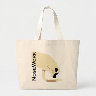 Mastiffs_Nose Work Large Tote Bag