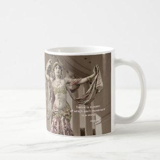 Mata Hari Vintage Bellydance Quote Coffee Mug