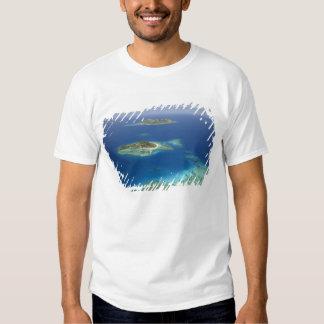 Matamanoa Island and coral reef, Mamanuca Island T-shirts