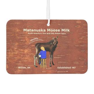 Matanuska Moose Milk Coupon Car Air Freshener