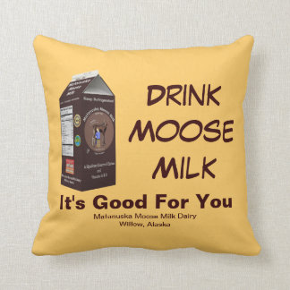 Matanuska Moose Milk Cushion