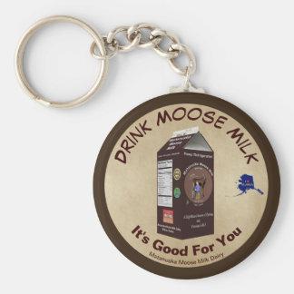 Matanuska Moose Milk Key Ring