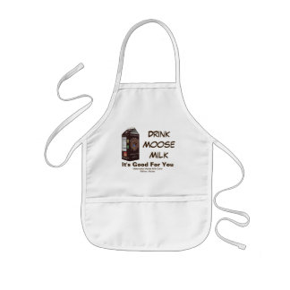 Matanuska Moose Milk Kids Apron