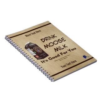 Matanuska Moose Milk Notebook