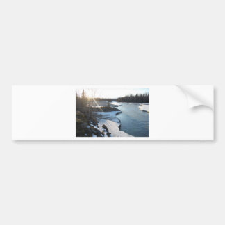 Matanuska River Bumper Sticker