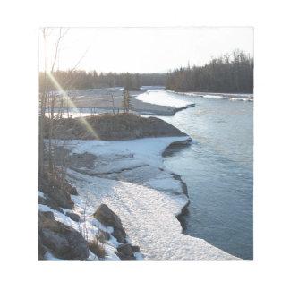 Matanuska River Notepad