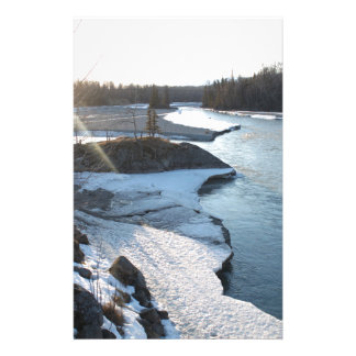 Matanuska River Stationery
