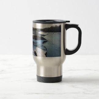 Matanuska River Travel Mug