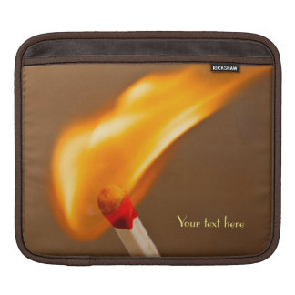Match Catching Fire iPad Sleeves