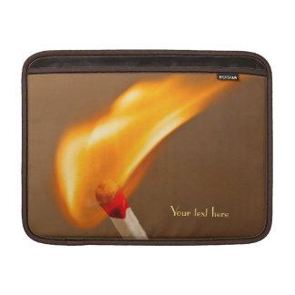 Match Catching Fire MacBook Air Sleeves