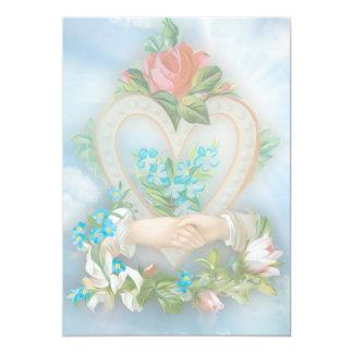 Match Made in Heaven 13 Cm X 18 Cm Invitation Card