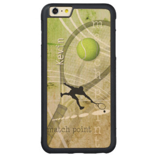 Match Point II Carved® Maple iPhone 6 Plus Bumper Case