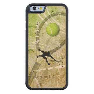 Match Point II Maple iPhone 6 Bumper Case