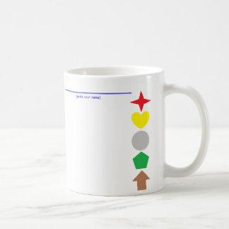 'Match The Colours' Coffee Mug