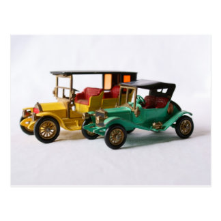 Matchbox Cars Postcard