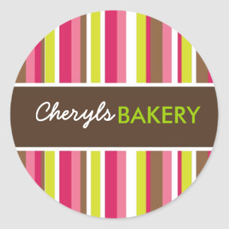 Matching Bakery Stickers