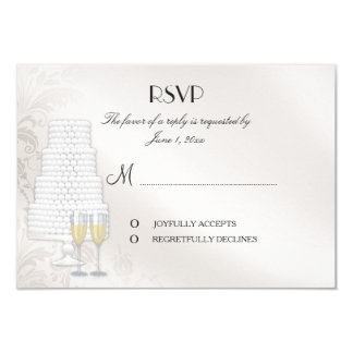Matching RSVP Card for Gay Wedding Invitation