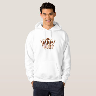 Matching Thanksgiving for Dad Daddy Turkey Hoodie