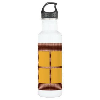 Matching Theme Squares - Silk Satin Acrylic look 710 Ml Water Bottle
